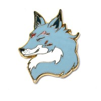 Grey Fox Pin