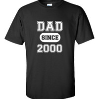DAD since 2000 Fathers Day Present Gift - Unisex Tshirt
