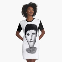 'Picasso Woman 09' Graphic T-Shirt Dress by BillOwenArt