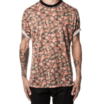 Washed Out Floral Tee