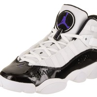 Jordan Nike Kids 6 Rings BG Basketball Shoe