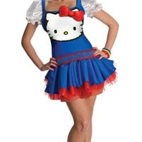 Classic Blue Hello Kitty Costume