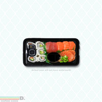 Sushi Set, , 3 Variations, Custom Phone Case for Galaxy S4, S5, S6