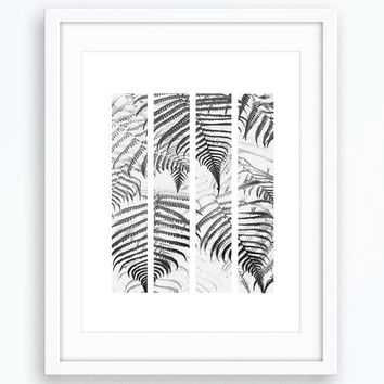 Nature Print, Printable Nature Poster, Leaf Print, Scandinavian Print, Nature Photography Print, Wall Art, Home Decor Print, House Print