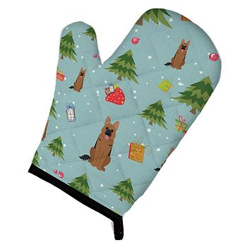 Christmas German Shepherd Oven Mitt BB4727OVMT