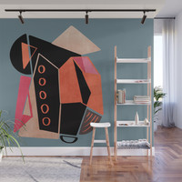 Modern minimal forms 33 Wall Mural by naturalcolors