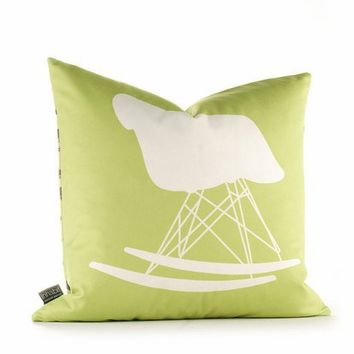 "GRAPHIC PILLOW - 1948 Chair - 18"" X 18"""