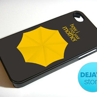 How I Met Your Mother Umbrella iPhone 4 / 4S Case