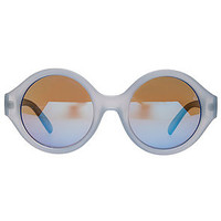 The Dandy Sunglasses in Ice Blue