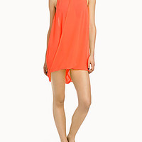 Twisted voile beach cover-up     | Simons