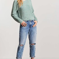 Chenille Knit Sweater - Women - New Arrivals - Sweaters - 2000148579 - Forever 21 Canada English