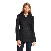 Women's Wool Blend Pea Coat - Merona™ : Target