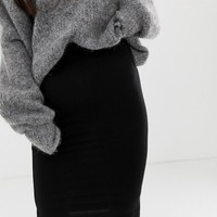 ASOS DESIGN Petite jersey pencil skirt | ASOS