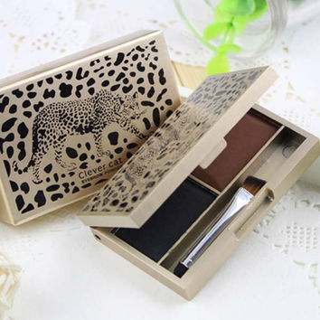 Eyebrow Powder Eye Brow Palette Cosmetic Makeup Shading Kit with Brush Mirror New Arrival
