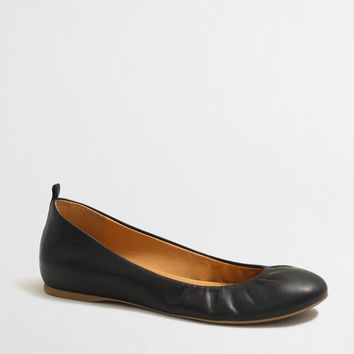 Anya leather ballet flats : FactoryWomen Ballet Flats | Factory