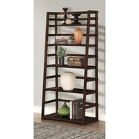 WYNDENHALL Normandy Ladder Shelf Bookcase | Overstock.com Shopping - The Best Deals on Media/Bookshelves