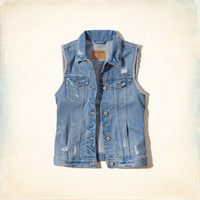 Avalon Denim Vest
