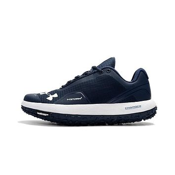 Best Deal Online Under Armour Michelin UA Fat Tire Men Running Shoes Navy White