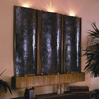 Indoor Black Water Fountain - Opulentitems.com