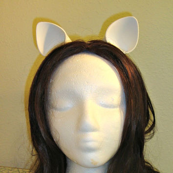 White My Little Pony Rarity Cat Cosplay Ears