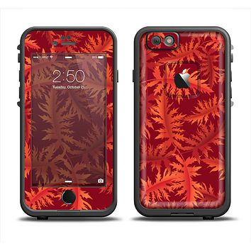 The Vector Fall Red Branches Apple iPhone 6 LifeProof Fre Case Skin Set