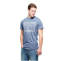 Men's '47 Brand Navy New England Patriots Established Tri-Blend T-Shirt