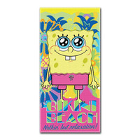 Spongebob Colada Beach Towels (28in x 58in)