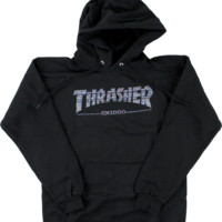 Thrasher Gx1000 Hoody/Sweater Small Black