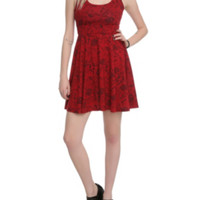 Ruby Pin-Up Dress