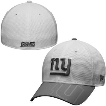 New York Giants New Era Series Gunner Two-Tone 39THIRTY Flex Hat – White