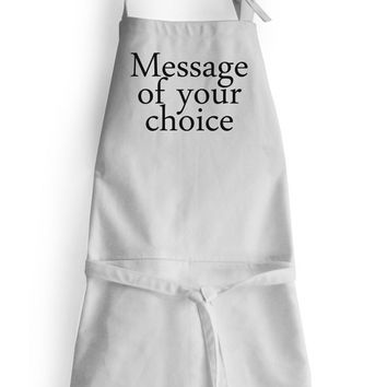 Personalized Monogram Apron High Grade Cotton Women Men Kids Aprons Kitchen Cooking Gift Wedding Anniversary Thanksgiving Christmas Registry