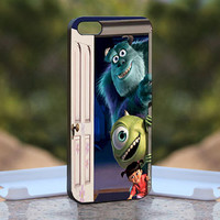 Monster Inc Disney Animation - Kill Zombie - Design available for iPhone 4 / 4S and iPhone 5 Case - black, white and clear cases