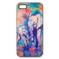 Elephant Design Hard Case Cover Skin for iphone 5:Amazon:Cell Phones & Accessories