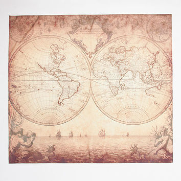 ANKIT Old World Map Tapestry | Decor