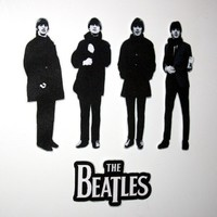 The Beatles magnet set
