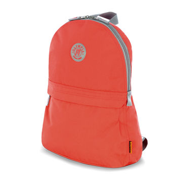 """Academy"" 17"" Eco-Friendly Backpack In Red"