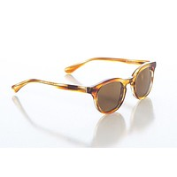 Hatcher Sunglasses in Brown Havana with Safari Brown Polarized Lens by Red's Outfitters