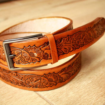 leather belt for men, leather belt, mens leather belt, mens belt, leather belt men, handmade belt, genuine leather belt, tan leather belt