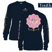 "*Closeout* Youth Simply Southern Long Sleeve - ""Wish Upon a Starfish"""
