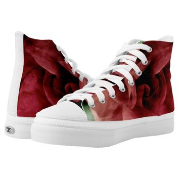 Rose Printed Shoes
