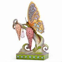 Jim Shore Butterfly & Spring Flowers Figurine