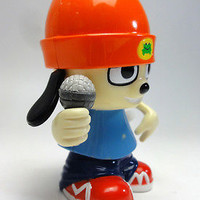 PARAPPA THE RAPPER Dancing PARAPPA Wind Up Figure MEDICOM TOY JAPAN