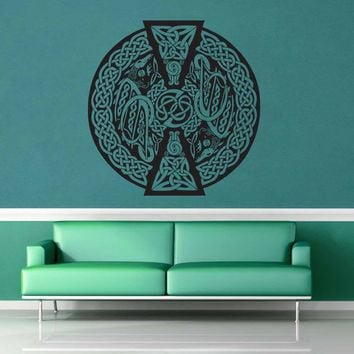 Dragon - Celtic Knot - Wall Decal - No 2$8.95