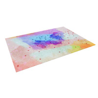 "Iris Lehnhardt ""Summer Pastels"" Multicolor Painting Indoor / Outdoor Floor Mat"
