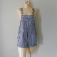 Womens Overalls Shorts Over Alls Womens Shortalls 90s Overalls Womens Bib Overalls Womans Romper Navy Blue Romper Womens Jumper Shorts
