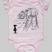My Star Wars ATAT Pet Baby Onesuit Bodysuit Star by ironspider