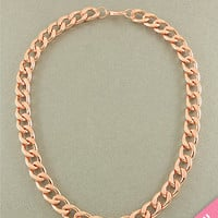 Rose Gold Chain Necklace from Her Vanity Affair