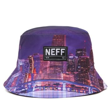 Neff Skyline Bucket Hat - Mens Backpack - Purple - One