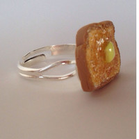 Miniature Buttered Toast Ring