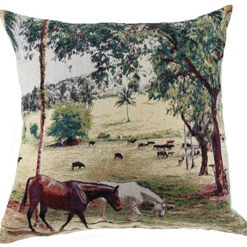 Graze Decorative Pillow Cushion Cover